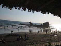 Playa El Tunco, enero del 2011