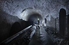 underground tunnel sewer canalization urban dystopia sci fi