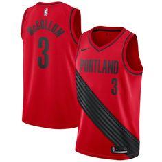 C.J. McCollum Portland Trail Blazers Nike Swingman Jersey - Statement  Edition – Red 829ee7279