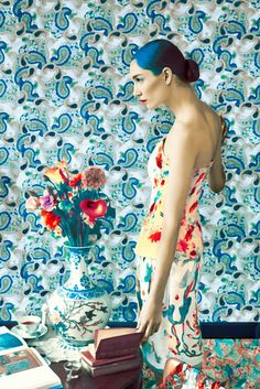 Mary Katrantzou for A Magazine | Erik Mad. Heck