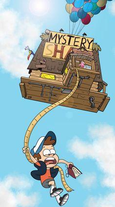 Defying Gravity Falls by on DeviantArt – funny wallpapers Gravity Falls Crossover, Gravity Falls Dipper, Gravity Falls Poster, Gravity Falls Funny, Gravity Falls Comics, Gravity Falls Art, Defying Gravity, Gravity Falls Gideon, Cartoon Wallpaper