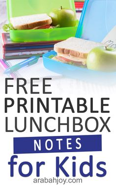 Let these free printable lunchbox notes for kids help you show your kids how much you care and as you pray for the new school year. Let these lunchbox notes for kids add a special touch to your child's school day. || Arabah Joy #printablelunchboxnotes #backtoschool #lunchboxnotes #arabahjoy