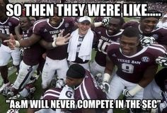 You people had no hope..us true aggies got all the hope ever...that quarter back,hes smaller than most....but hes redneck and good at football..for practice,he threw a football at flyin skeets...didnt miss