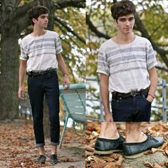 Selected Homme T Shirt, Jack And Jones Belt, Bally Shoes