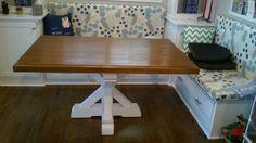 Custom Pine Pedestal Table
