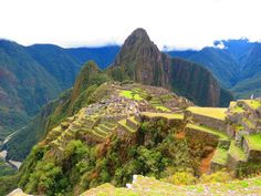 Lost city - Machu Picchu, Peru - Top 7 Ancient Lost Cities Around The World Machu Picchu, Have A Great Vacation, Great Vacations, Most Romantic Places, Beautiful Places, Ecuador, Lima City, American Cruises, Arabica