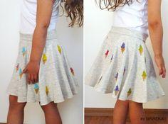 by sovička: Fotonávod: Kolová sukně