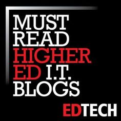 The Dean's List: 50 Must-Read Higher Education Technology Blogs (scheduled via http://www.tailwindapp.com?utm_source=pinterest&utm_medium=twpin&utm_content=post133608419&utm_campaign=scheduler_attribution)