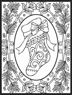 Christmas Coloring Pages For Adults images