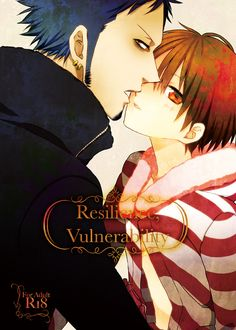 """Resilience,Vulnerability"" yaoi doujinshi by Johnny Tetsu Pipe (Inugami Johnny), Law x Luffy, One Piece"