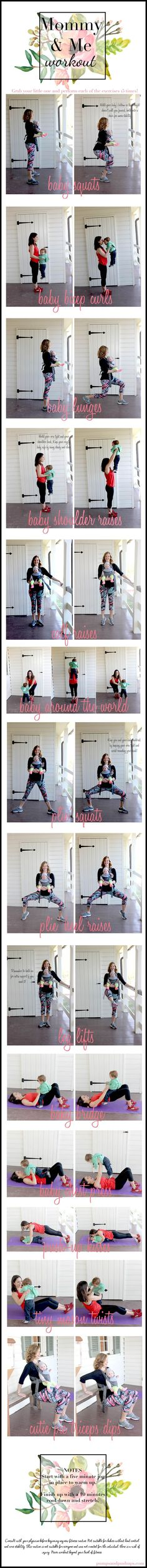 Yoga post on Mommy And Me Workout With Fabletics (Link-Up) | Pumps & Push Ups