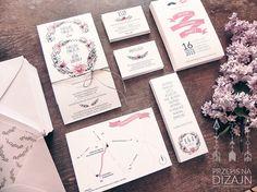 Flower invitations on Behance