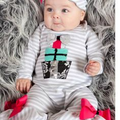 Peaches 'N Cream Silver Gift Holiday from Freckles Children's Boutique for $59.00