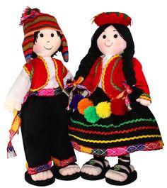 Colección Hercilia, dedicada a la confección de muñecas típicas Peruanas. se confeccionan en diferentes tamaños y modelos exclusivos a pedido de nuestros clientes, a demás hacemos mascotas según diseño propio y muñecos navideños con motivos incaicos, Atendemos al por mayor, menor y para exportación. Ubiquenos en el Jr Walkuski Nº 165 Cercado de Lima ( Alt. de la Cdra 1 Av. Brasil) PEDIDOS DELIVERY al 4330842 / 998640575 Facebook: Hercilia San Martín García Craft From Waste Material, Peruvian Art, Doll Museum, Beautiful Roses, Crochet Flowers, Traditional Outfits, Paper Dolls, Panda, Mexican