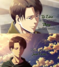 Uploaded by Rorito Hellani. Find images and videos about attack on titan, levi and ackerman on We Heart It - the app to get lost in what you love. Levi Quotes, Sad Anime Quotes, Manga Quotes, Attack On Titan Funny, Attack On Titan Anime, Aot Memes, Funny Memes, Japanese Film, Anime People