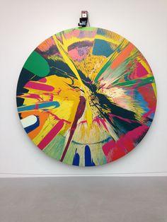 Damien Hirst Art Exhibition.
