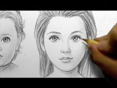 ▶ How to Draw Babies, Teens, & Adults [FEMALE] - YouTube