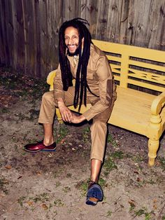 Bob Marley s Family Reunites for Its First Photo Shoot in More Than a Decade Marley Brothers, Julian Marley, Reggae Bob Marley, Bob Marley Pictures, Marley Family, Robert Nesta, Nesta Marley, Gq Fashion, Fashion News