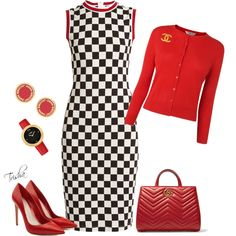 A fashion look from April 2017 featuring Givenchy dresses, Alexander McQueen pumps and Gucci tote bags. Browse and shop related looks.