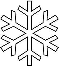 Snowflake Ornament Tutorial  Snowflake Template Simple Snowflake