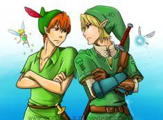 Zelda meets Peter Pan