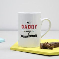 Personalised 'Number One Daddy' Mug