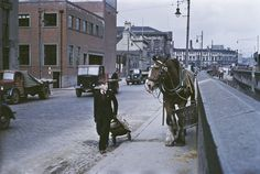 1955: Walking the streets of Belfast, shipbuilding capital of the world