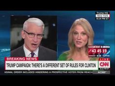 OMG!!!WTF!!! - Anderson Cooper DESTROYS Kellyanne Conway OVER & OVER