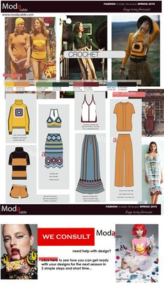 spring 2019 Crochet fashion trend only at www.modacable.com...