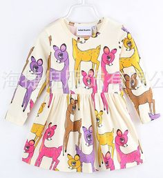 2016 New Bobo Choses Spring Summer Dinosaur Unicorns Rainbow Dresses For Baby Girls Dress Kids Cute Clothing Vestido-in Dresses from Mother & Kids on Aliexpress.com | Alibaba Group