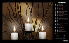 Trinity Candles (Rendered)