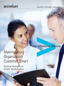Making your organization customer smart