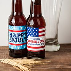 Celebrate the 4th in style with beer labels.