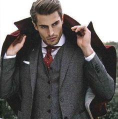 costume gris anthracite pour les hommes modernes