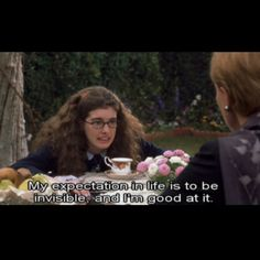 "Princess Diaries--sometimes I feel like this! ""Someone sat on me again!"""