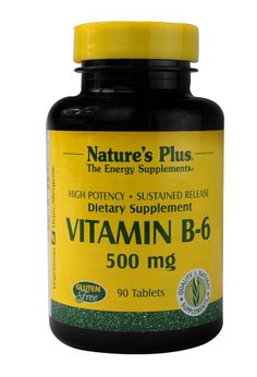 Vitamin B-6 500mg Time Release Nature's Plus 90 Sustained Release Tablet * You can find out more details at the link of the image.
