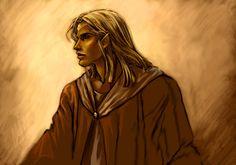 Finrod by E.W.  http://tolkienfanart.com/gallery/artist_gallery.php?GAid=4