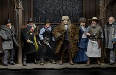 Finally got my hands on the #neca #TheHatefulEight figures  #Actionfigures #Movie #Films