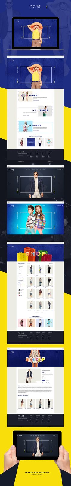 Fashion Space on Web Design Served