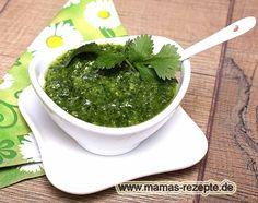 Rezept Koriander Pesto Rezept auf Mamas Rezepte Homepage