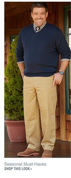 Love this clothing style look & the smile.