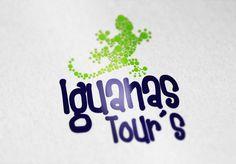 Logotipo para iguanas tours