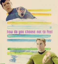 how do you choose not to feel