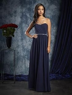 Alfred Angelo 8103L - Size 8 Navy