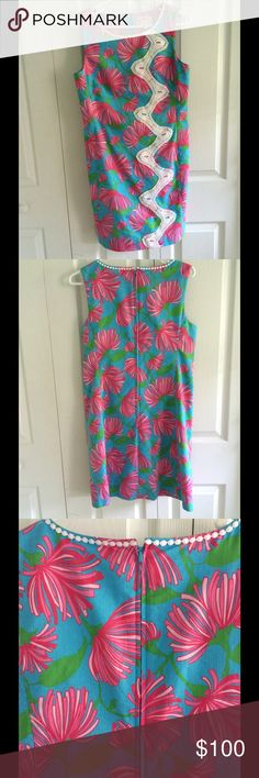 -PRICE DROP-Lilly Pulitzer Dress Lilly Pulitzer Shift Dress. Only worn twice! Lilly Pulitzer Dresses