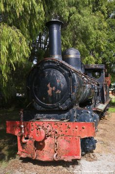 Steam Train - Pemberton, Western Australia