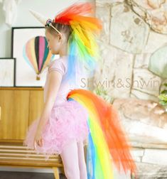 Sometimes little girls just want to be fluffy rainbow unicorns. And when this timecomes this nice easy and quick DIY rainbow unicorn costume tutorial will be very handy! This fun costume can be a perfect choice for halloween or just for dress up parties! ...