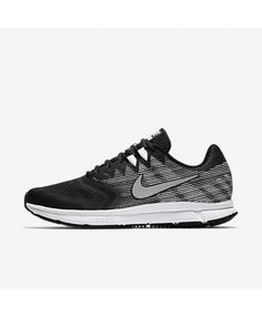 Nike Air Zoom Span 2 Black Dark Grey White Metallic Silver 908990-001 Black  Dark c953d9d2a
