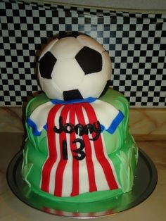 Soccer ~ Las Chivas ~ Cake By Sweet_Chely on CakeCentral.com