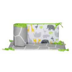 Carter's® Zoo Animals Crib Bumper - buybuyBaby.com